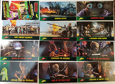 Mars Attacks Widevision Movie Cards Trading Cards Komplettsatz topps 1996