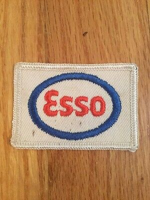 "Vintage Esso Oil Patch  2 1/2"" X 1 3/4"""