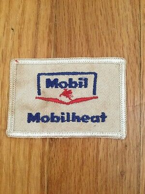 "Vintage Mobil Oil Mobilheat Patch 3"" X 2"""