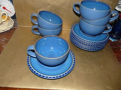 denby reflex large breakfast cup and saucer