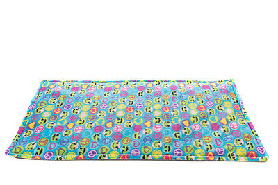 Fleece cage liner, guinea pig small animal, waterproof, made by ATALAS 2x5 feet