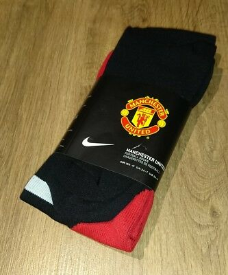 Manchester United home football socks Adult Medium (UK2-7) Nike