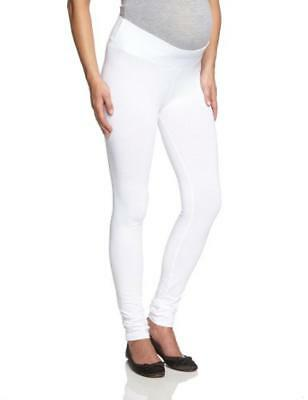 (TG. Small / Medium) ESPRIT Maternity - Legging, Leggings da donna, Bianco, Smal