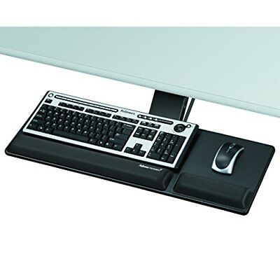 Fellowes Designer Suites Compact Keyboard Tray - Black (8017801)