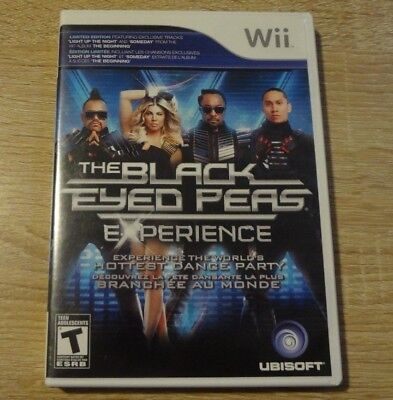 Nintendo Wii Video Game The Black Eyed Peas Experience Complete w/Manual!