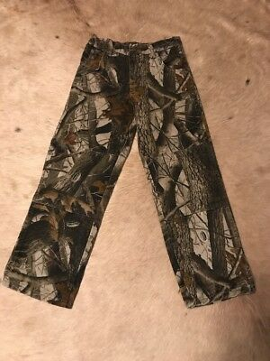 Boy's Wrangler Camouflage Pants Size 10 Hunting Hunt Camo Outdoors Realtree