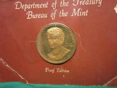 Dept of the Treasury ~ Bureau of the Mint JIMMY CARTER - Proof Edition