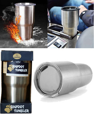900ml Stainless Steel Cup Yeti Tumbler Camping Travel Mug Large Coffee