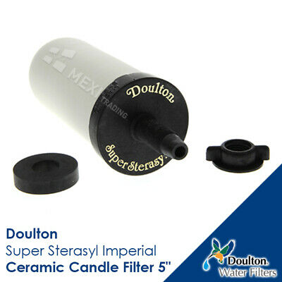 Genuine Doulton W9121020 Gravity Undersink Ceramic Candle Water Filter