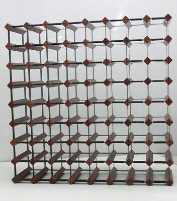 72 Bottle MAHOGANY Borders Timber Wine Rack 1000's SOLD  throughout Australia