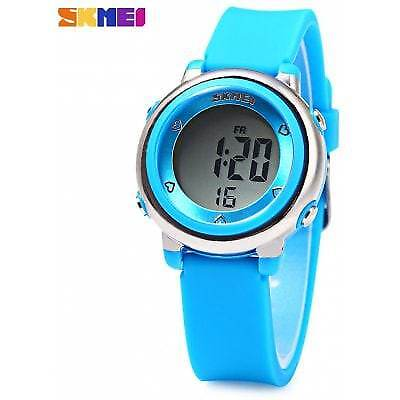 SKMEI 1100 Colorful LED Digital Watch-BLUE