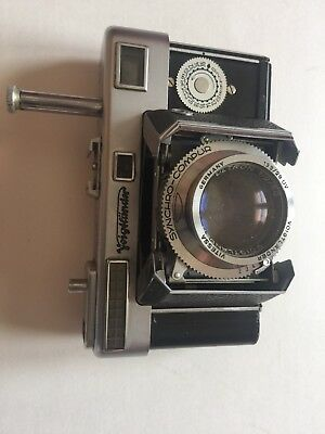 Voigtlander Vitessa type 140 L with Ultron 1:2/50 Lens made in Germany w/Rowi