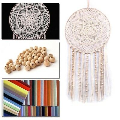 Hanging Macrame Dreamcatcher Dream Catchers Natural Tassel Lace House Room Decor
