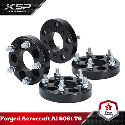 4X 25MM Wheel Spacers 5x100 To 5x114.3 M12x1.5 64.1mm Forged Fit Dodge Corolla