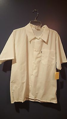 Uncommon Threads White Chef Shirt NEW size Large