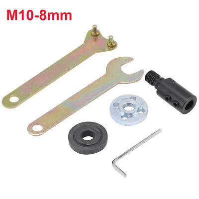1pc Motor Shaft Coupler M10 5-12mm Sleeve Saw Blade Coupling Saw Chuck Adapter