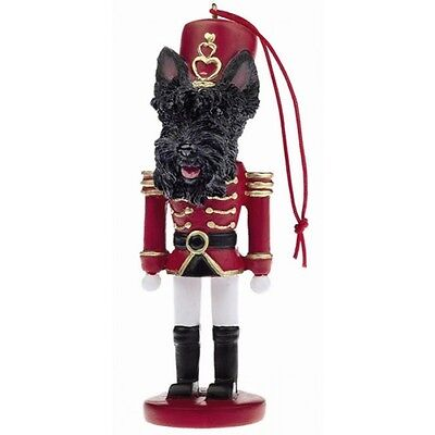 Scottish Terrier Scottie Dog Toy Soldier Nutcracker Christmas Ornament