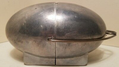 Vtg Streamline Art Deco Machine Age Aluminum Na-Mac Ind Top-O-Stove Potato Baker