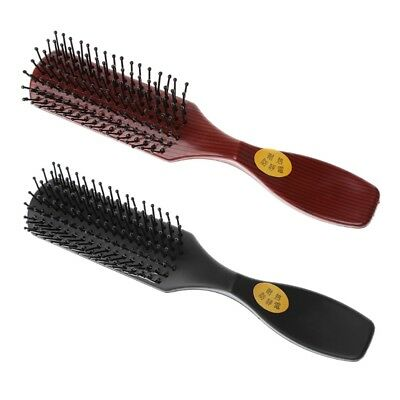 Plastic Pro Hair Brush Vented Comb For Salon Home Use Hairdressing Beauty Tool