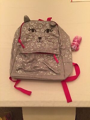 Girls Kitty Cat Backpack By Gymboree