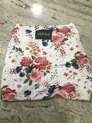 New Milk Snob Nursing car seat high chair cover in French floral