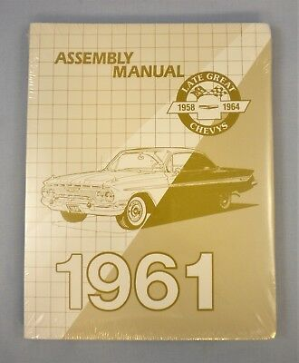 1961 Chevrolet Passenger Car Factory Assembly Manual