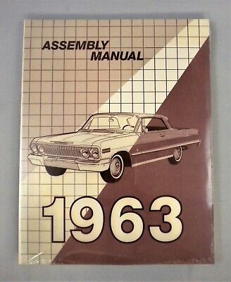 1963 Chevrolet Passenger Car Factory Assembly Manual