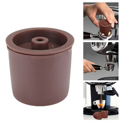 8pcs Reusable Coffee Filter Permanent Refillable Filling Capsule For Coffeemaker