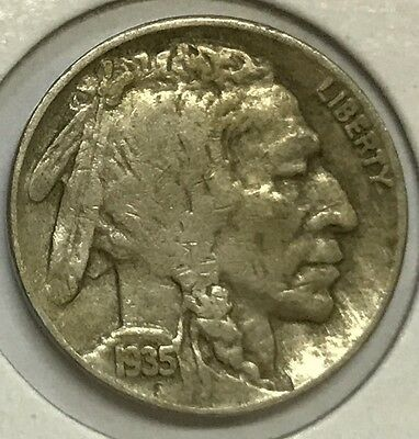 1935-D Buffalo Nickel -- High Grade **see Pictures** Nice Coin -Up For Bids #103