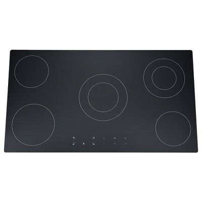 Domain 900mm Ceramic Glass Electric Cooktop with Touch Controls