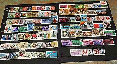 AUST BULK LOT 1966 - 1972 x 102 ALL DIFF WITH H/V,SETS   SPECIAL!!!!  F/U