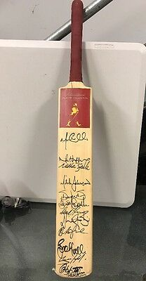 Johnnie Walker Red Label International - Australian SIGNED Cricket Bat Australia