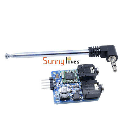 76-108MHZ TEA5767 FM Stereo Radio Module For Arduino With Free Cable Antenna