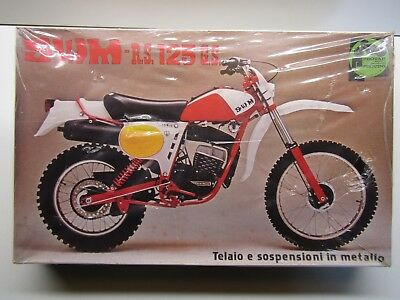 Protar 1:9 Scale SWM R.S. 125 G.S. Enduro Model Kit - New - Metal Frame - Rare