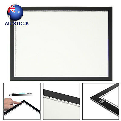 AU STOCK LED Lightbox Tracing Board Lights Pad USB Cable Drawing Design Tablet
