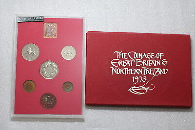 Uk Gb 1973 Royal Mint Proof Set A74 Cg27