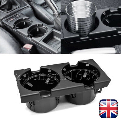 For BMW Front Center Console Cup/Drink Holder Black E46 3 Series 51168217953 UK