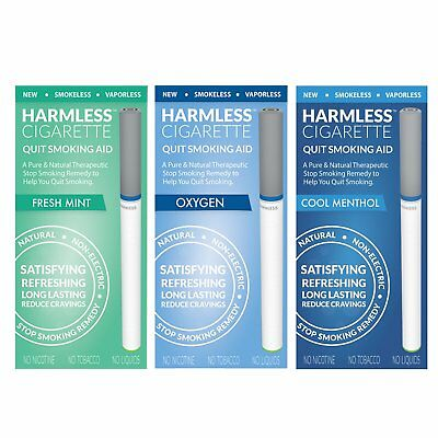 Quit Smoking Kit / Naturally Stop Smoking Product +Support / Harmless Cigarette.