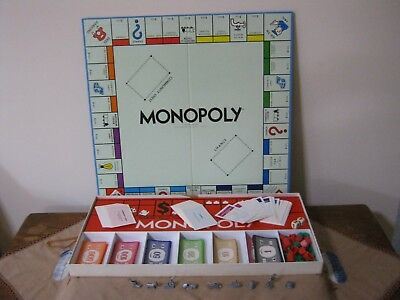 Vintage MONOPOLY Game. Classic Version.  Parker Bros. (Toltoys) ExclCond.