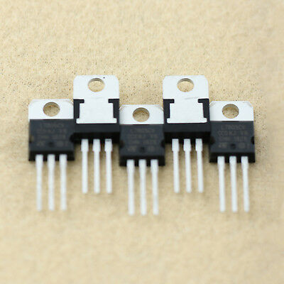 New 5 x LM7805 L7805 7805CV  Voltage Regulator IC 5V 1.5A