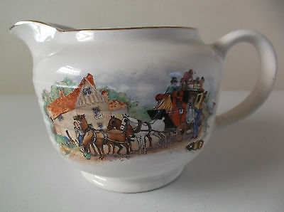 Vintage Swinnertons Collectable Jug Coach Scene England
