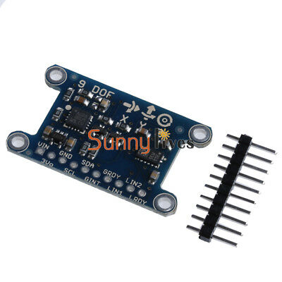 9 Axis IMU LSM303D Module 9DOF Compass Acceleration Gyroscope for Arduino L3GD20