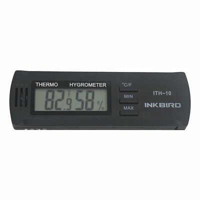 Inkbird Dc 3V Input Digital Thermometer & Humidity Meter Hygrometer ITH-10
