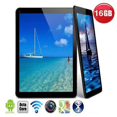 "N98 9"" Inch Google Android 4.4 Quad Core Dual Camera Wifi TABLET PC 1GB+16GB Q"
