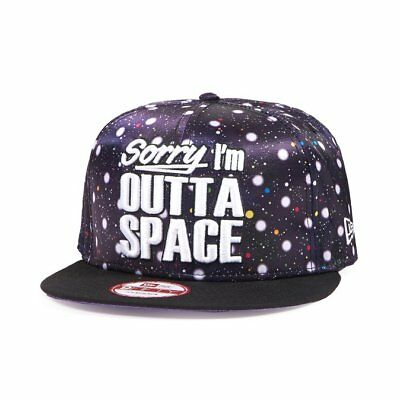 New Era Sorry I'm Outta Space 9Fifty Snapback Baseball cap Size S/M