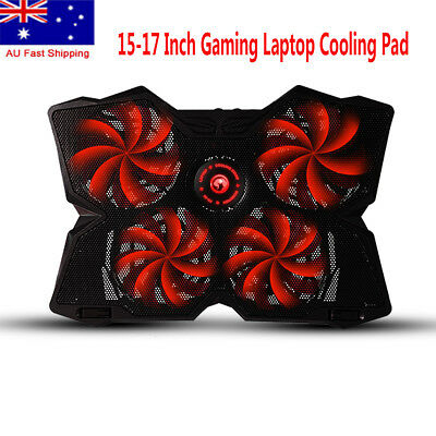 Marvo FN-30 Double USB 4 Fans Laptop Stan Cooling Pad Fast Cooling For Gameing