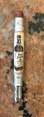 1950S Paul Jones Whiskey Bullet Pencil 4""