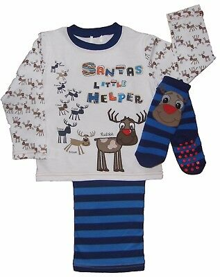 Boys Christmas Pyjamas One Only Priced to Clear 12-18 months Last One so Bargain