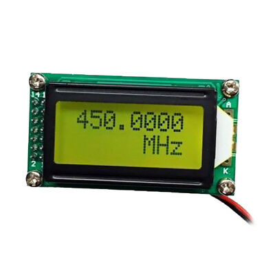 PLJ-0802-C 1MHz-1.2GHz Signal Frequency Counter Cymometer Tester Meter Green