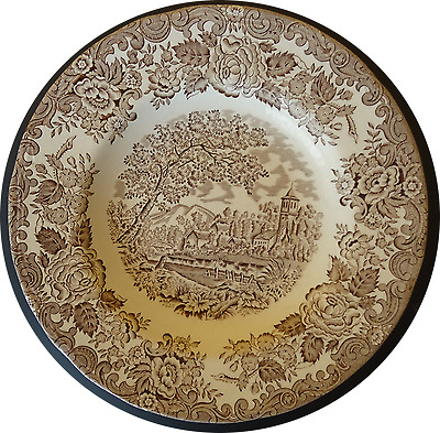 Assiette En Faience De Luneville English Style